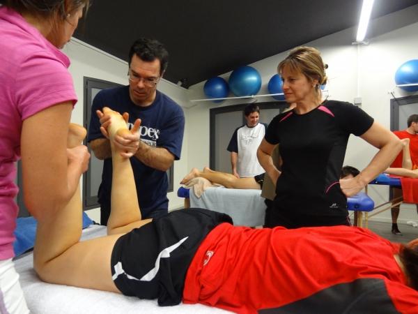 Curs Massatge Esportiu & Estiraments Barcelona