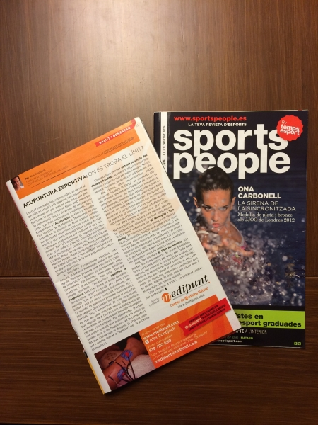 Medipunt con SPORTS PEOPLE Barcelona