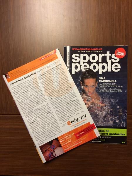 Medipunt amb SPORTS PEOPLE Barcelona