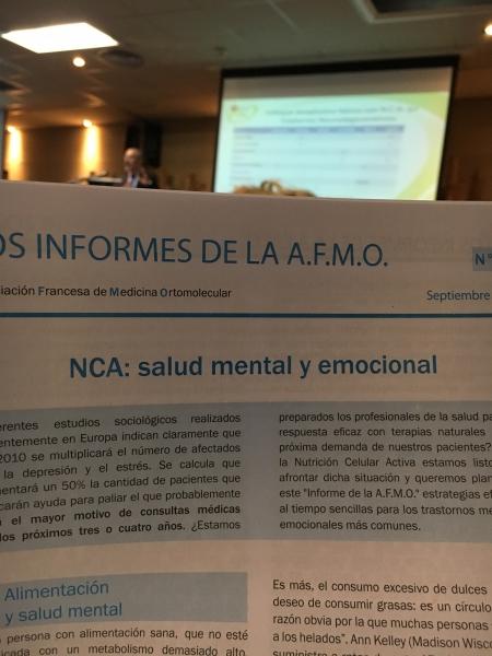 Nutrició Celular Activa & Salut mental Barcelona
