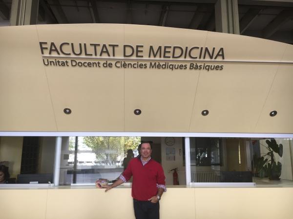 Començen les classes del Màster d'Osteopatia Barcelona