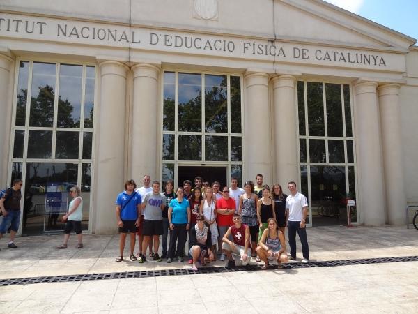 Curs MTX&Esport a l'INEF Barcelona