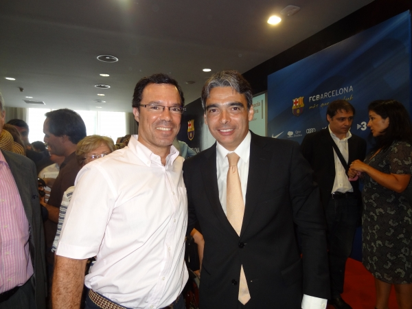 Medipunt amb la Inteligència Esportiva Barcelona